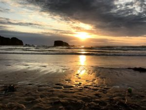 the best places to stay in cornwall - sunset beach